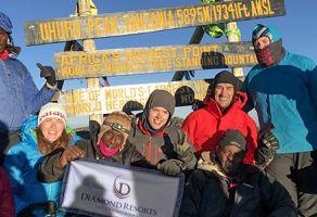 Members Climb Mt. Kilimanjaro